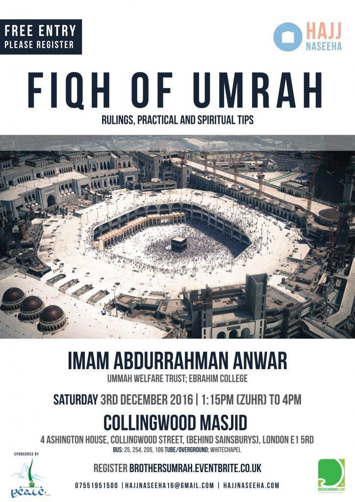 Fiqh of Umrah Class